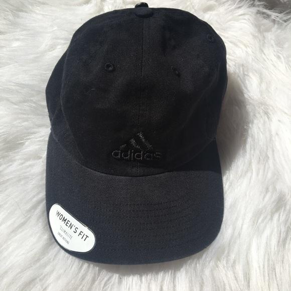 8d1362161c6 Women s Black new adidas baseball cap